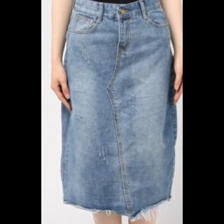 andjのデニムスカート