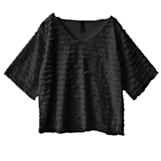 このコーデで使われているe-zakkamania storesのシャツ/ブラウス[ブラック]