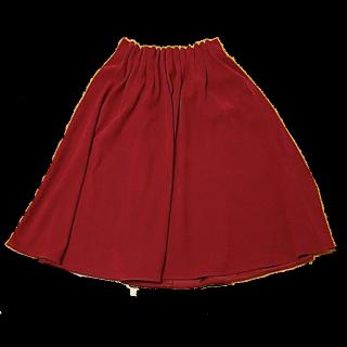しまむらのミモレ丈スカート