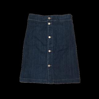 このコーデで使われているChloeのデニムスカート[ネイビー]