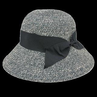 このコーデで使われている女優帽[グレー/ブラック]