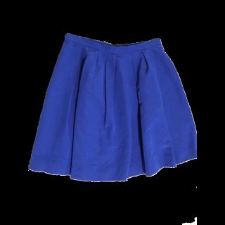 このコーデで使われているApuweiser-richeのひざ丈スカート[ブルー]