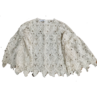 このコーデで使われているシャツ/ブラウス[ホワイト]
