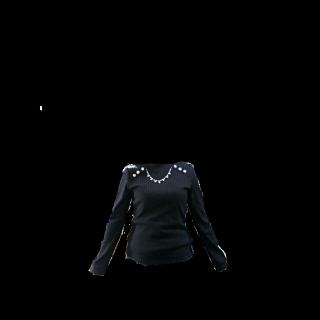 このコーデで使われているaxes femmeのニット/セーター[ブラック]