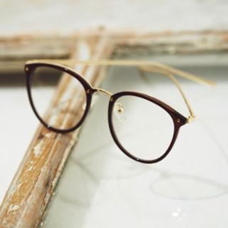 不明のメガネ