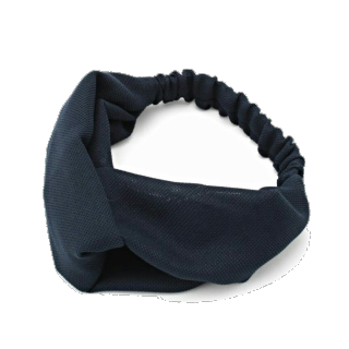 このコーデで使われているROPE' PICNICのヘアアクセサリー[ネイビー]