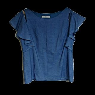 このコーデで使われているcheek by archivesのシャツ/ブラウス[ブルー]