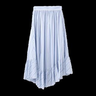 このコーデで使われているaquagirlのマキシ丈スカート[ブルー]