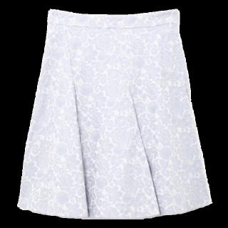 このコーデで使われているPROPORTION BODY DRESSINGのフレアスカート[ブルー]