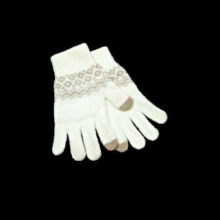 このコーデで使われている手袋[ベージュ/キャメル]