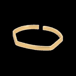 このコーデで使われているLUPISのブレスレット[ゴールド]