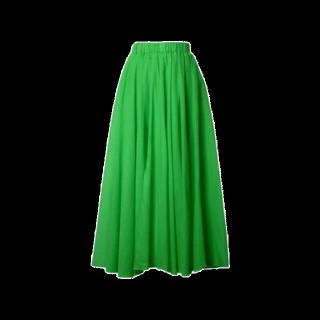 このコーデで使われているマキシ丈スカート[グリーン]