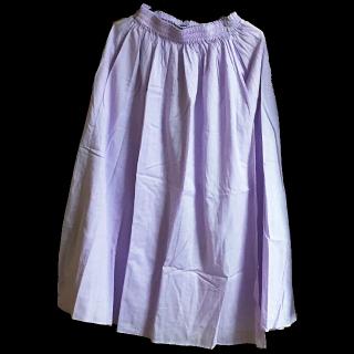 このコーデで使われているBAYFLOWのマキシ丈スカート[パープル]