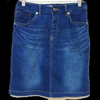 このコーデで使われているROPE' PICNICのデニムスカート[ブルー]