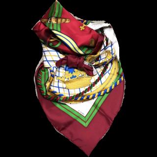 HERMESのスカーフ