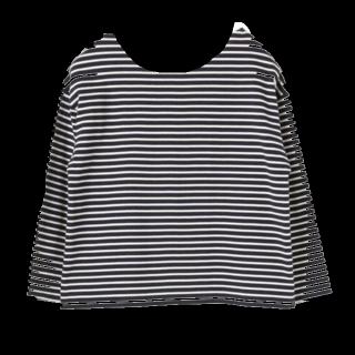 このコーデで使われているSEVENDAYS=SUNDAYのTシャツ/カットソー[ネイビー]