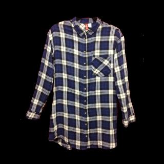 このコーデで使われているH&Mのシャツ/ブラウス[ブルー]