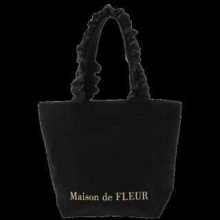 このコーデで使われているMaison de FLEURのトートバッグ[ブラック]