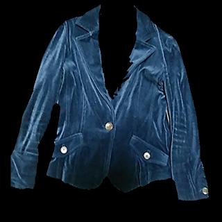 このコーデで使われているLE SOUKのテーラードジャケット[ネイビー]