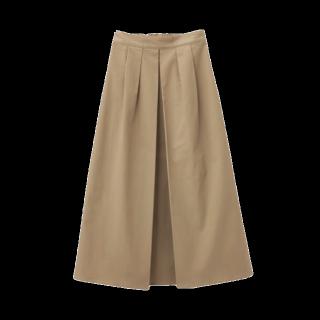 GUのマキシ丈スカート