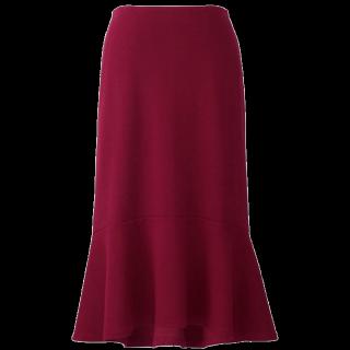 手作りのマキシ丈スカート
