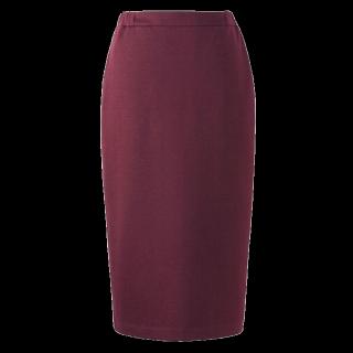 このコーデで使われているUNIQLOのタイトスカート[ボルドー]