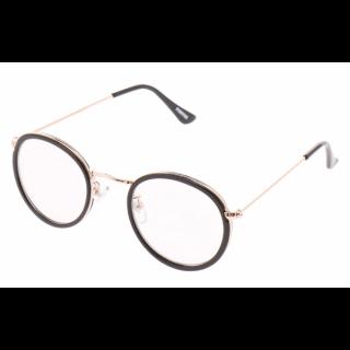 このコーデで使われているメガネ[ブラック/ゴールド]