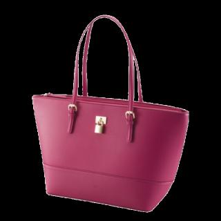 このコーデで使われているGUのトートバッグ[ピンク]