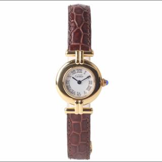 このコーデで使われているCartierの腕時計[ゴールド/ブラウン]