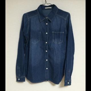 このコーデで使われているOLIVE des OLIVE / ANOTHER BRANCHのシャツ/ブラウス[ブルー]