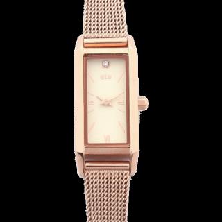 このコーデで使われているeteの腕時計[ゴールド]