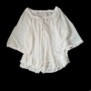 このコーデで使われているOLIVEdesOLIVEのシャツ/ブラウス[ホワイト]