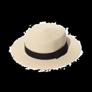 このコーデで使われているSPIGAの帽子[ベージュ/ブラック]