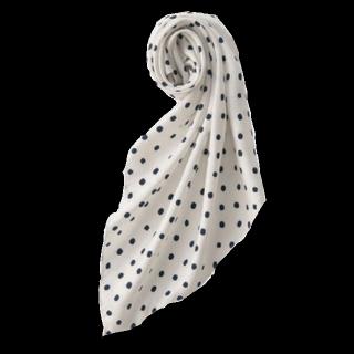 このコーデで使われているUNIQLOのスカーフ[ホワイト/ブラック]