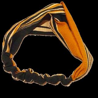 このコーデで使われているヘアアクセサリー[オレンジ/グリーン]