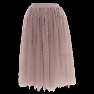 salusのミモレ丈スカート