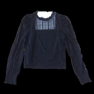 このコーデで使われているWEGOのシャツ/ブラウス[ブラック]