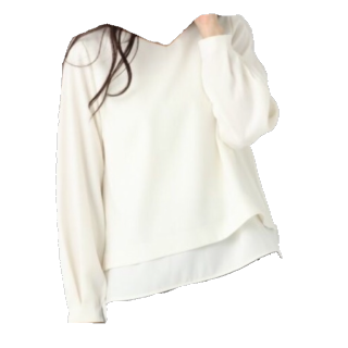 このコーデで使われているapart by lowrysのシャツ/ブラウス[ホワイト]
