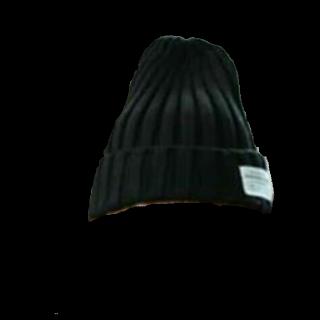 このコーデで使われているニット帽[ブラック]