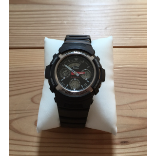 このコーデで使われているG-SHOCKの腕時計[ブラック]