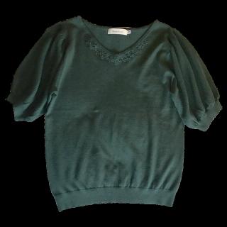 このコーデで使われているAG by aquagirlのTシャツ/カットソー[グリーン]