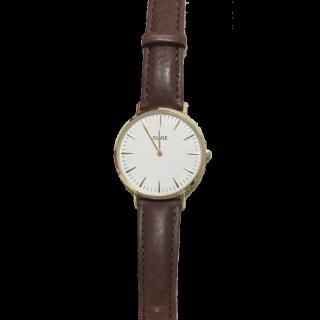 このコーデで使われているCLUSEの腕時計[ブラウン]