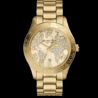 このコーデで使われているKORS MICHAEL KORSの腕時計[ゴールド]