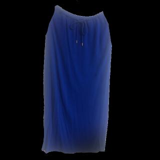 このコーデで使われているURBAN RESEARCHのマキシ丈スカート[ブルー]