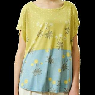 このコーデで使われているDesign Tshirts Store graniphのTシャツ/カットソー[イエロー]