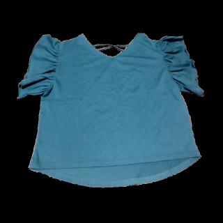 このコーデで使われているone after another NICE CLAUPのTシャツ/カットソー[グリーン/ブルー]