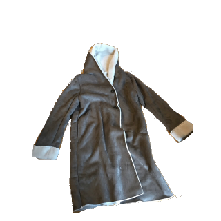 chocol raffine robeのムートンコート
