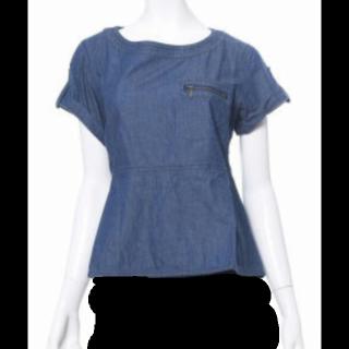 このコーデで使われているFELISSIMOのシャツ/ブラウス[ブルー]