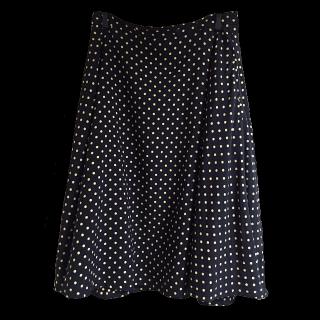 このコーデで使われているInès de la Fressangeのフレアスカート[ブラック]