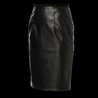 このコーデで使われているDURASのタイトスカート[ブラック]